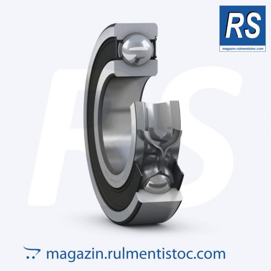 6206-2RS1/P5 - Rulment cu bile și canelură pe un singur rând de la SKF